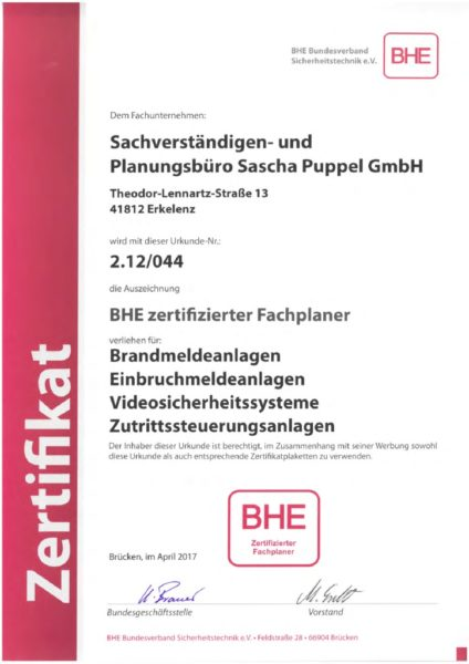 thumbnail of BHE-Fachplaner